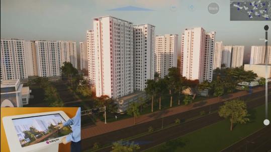 21st century city - Được phát triển bằng CryEngine. Hỗ trợ tương tác trên bản đồ dự án, có khả năng đi vào quan sát từng căn hộ và tính năng điều chỉnh thời điểm mặt trời trong ngày.