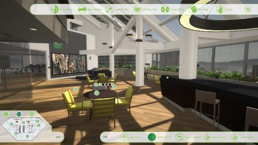 Pavonis - Mô phỏng công trình xây dựng, hỗ trợ đầy đủ tương tác bề mặt vật liệu của hàng mĩ nghệ. Được phát triển trên Unity3D và Occulus.