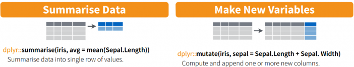 Mutate and Summarize function