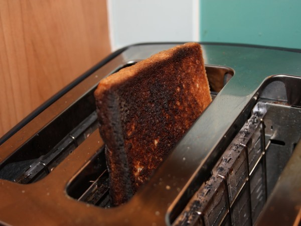 Burn your toast