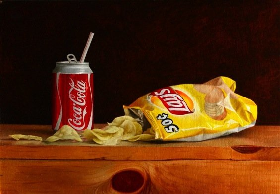 Chips and soda