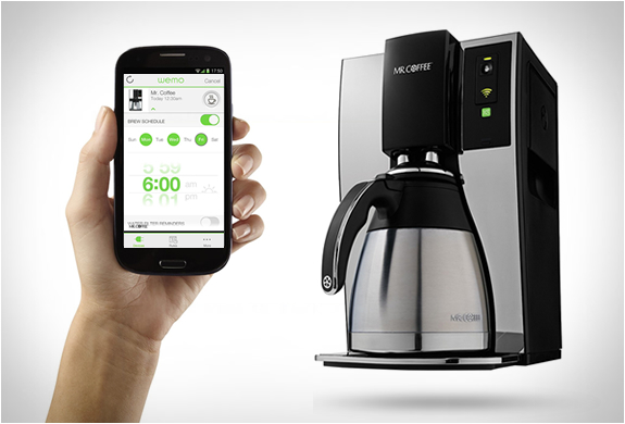 Smart coffee pot
