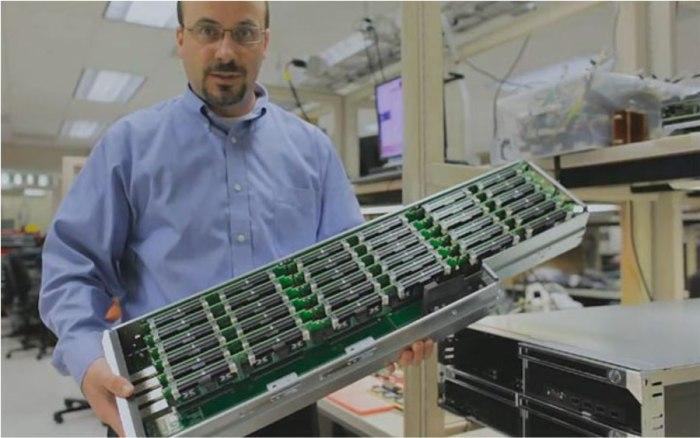 Hadoop cluster computers