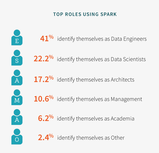 Databricks Spark top roles