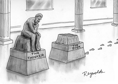 thinker vs doer
